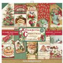 Stamperia - Double-Sided 12 x 12 Inch Paper Pack - Christmas Vintage
